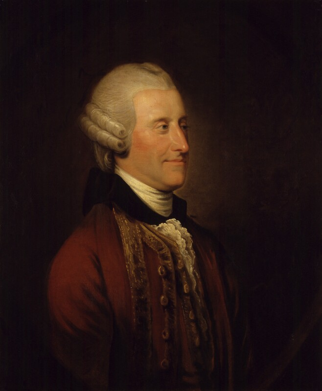 John Montagu, 4th Earl of Sandwich, after Johan Joseph Zoffany, based on a work of circa 1764 - NPG 182 - © National Portrait Gallery, London