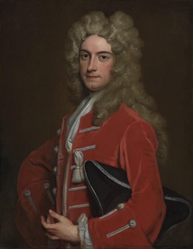 Richard Lumley, 2nd Earl of Scarbrough, by Sir Godfrey Kneller, Bt, 1717 - NPG 3222 - © National Portrait Gallery, London