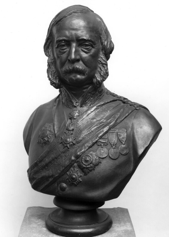 Sir James Yorke Scarlett, by Matthew Noble, circa 1873 -NPG 807 - © National Portrait Gallery, London