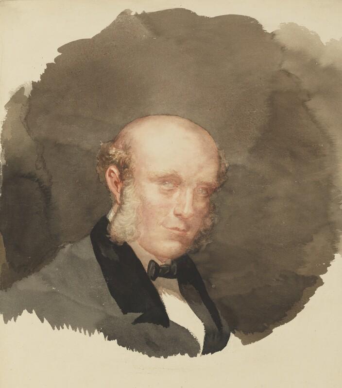 Sir George Scharf, by Sir George Scharf, 1872 - NPG 3864 - © National Portrait Gallery, London