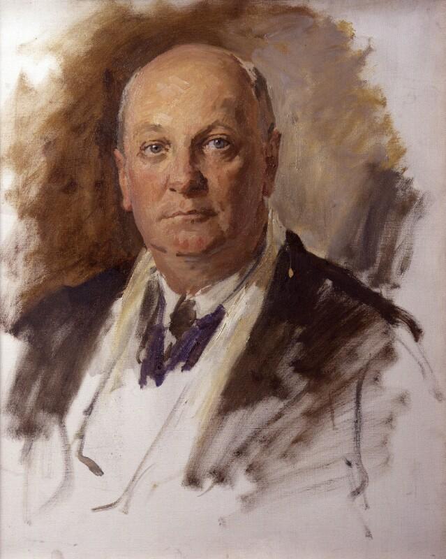 Sir Giles Gilbert Scott, by Reginald Grenville Eves, 1935 - NPG 4171 - © National Portrait Gallery, London