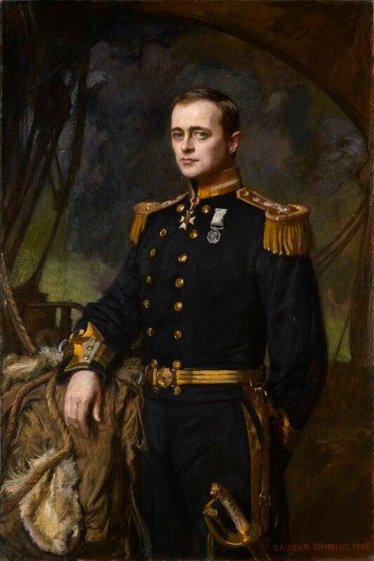 Robert Falcon Scott, by Daniel Albert Wehrschmidt (Veresmith), 1905 - NPG 2079 - © National Portrait Gallery, London