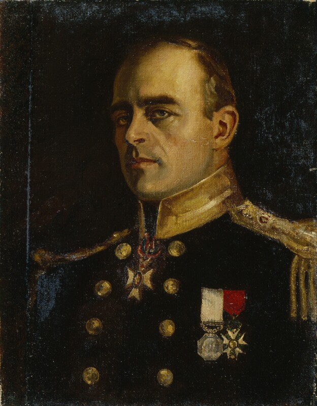 Robert Falcon Scott, by Charles Percival Small, based on photographs of 1910 - NPG 1726 - © National Portrait Gallery, London