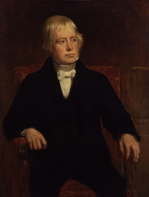 Sir Walter Scott, 1st Bt, replica by John Graham Gilbert, 1829 - NPG 240 - © National Portrait Gallery, London