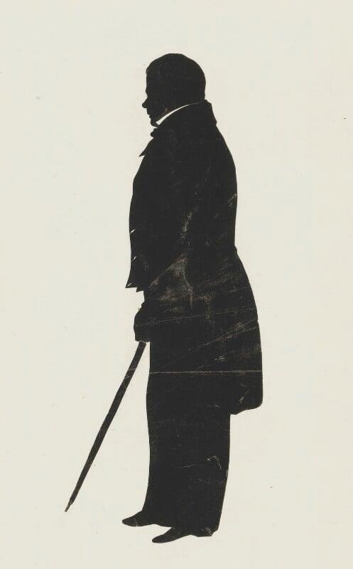 Sir Walter Scott, 1st Bt, by Augustin Edouart, 1830-1831 - NPG 1638 - © National Portrait Gallery, London