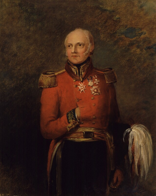 Sir George Scovell, by William Salter, 1834-1840 -NPG 3752 - © National Portrait Gallery, London