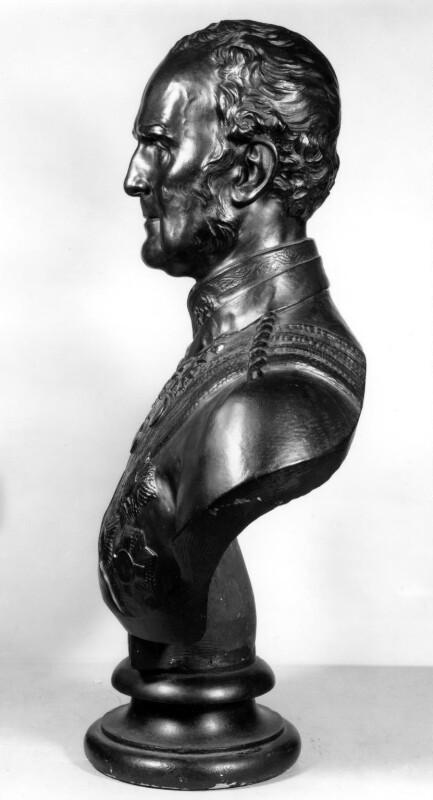 John Colborne, 1st Baron Seaton, by George Gammon Adams, 1863 -NPG 1205 - © National Portrait Gallery, London