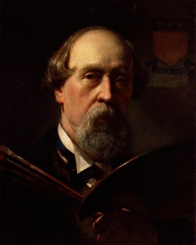 Henry Courtney Selous, by Henry Courtney Selous, 1871 -NPG 4848 - © National Portrait Gallery, London