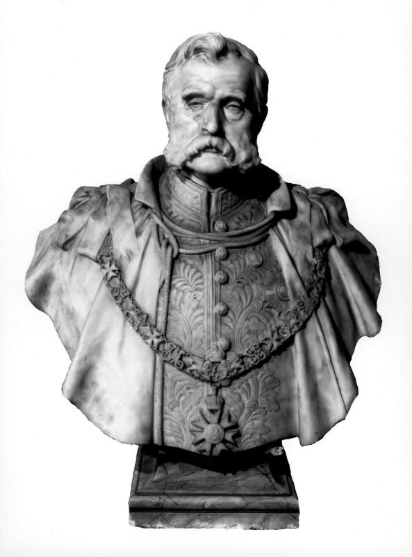 Sir Walter Sendall, by Edward (Edouard) Lanteri, 1902 - NPG 4859 - © National Portrait Gallery, London