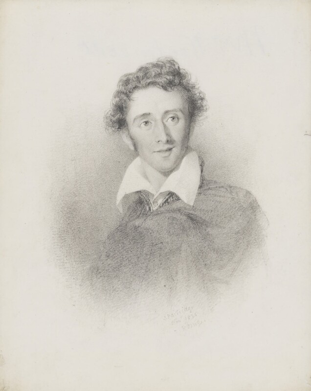 Joseph Severn, by John Partridge, 1825 - NPG 3944(18) - © National Portrait Gallery, London