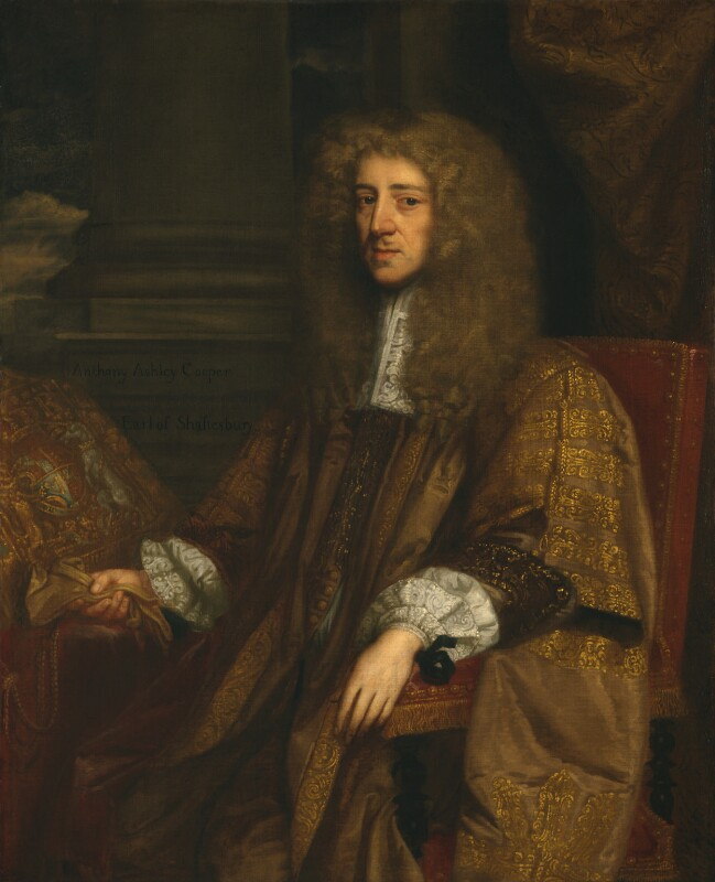Anthony Ashley-Cooper, 1st Earl of Shaftesbury, after John Greenhill, based on a work of circa 1672-1673 - NPG 3893 - © National Portrait Gallery, London