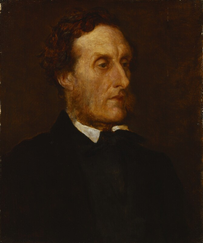 Anthony Ashley-Cooper, 7th Earl of Shaftesbury, by George Frederic Watts, 1862 -NPG 1012 - © National Portrait Gallery, London