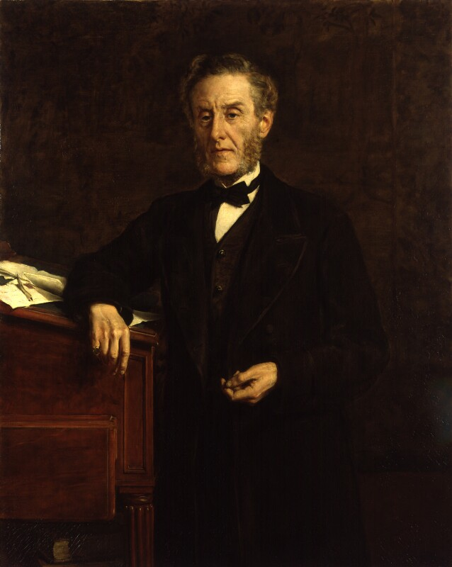 Anthony Ashley-Cooper, 7th Earl of Shaftesbury, by John Collier, 1877 - NPG 1728 - © National Portrait Gallery, London