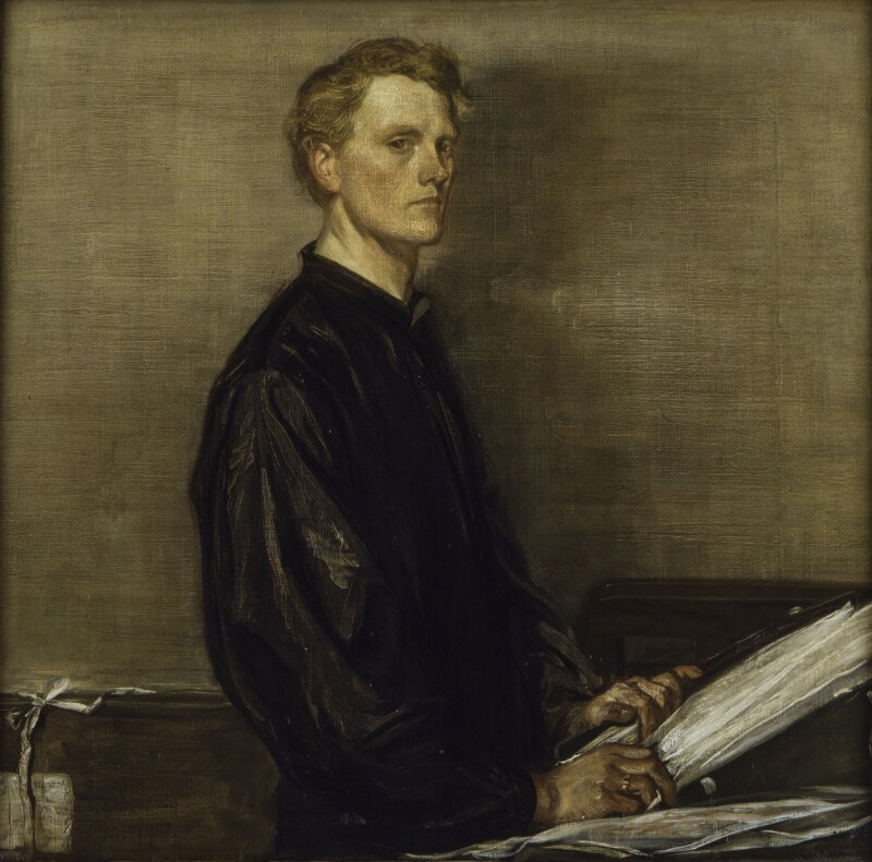 Charles Haslewood Shannon, by Charles Haslewood Shannon, 1897 -NPG 3107 - © National Portrait Gallery, London