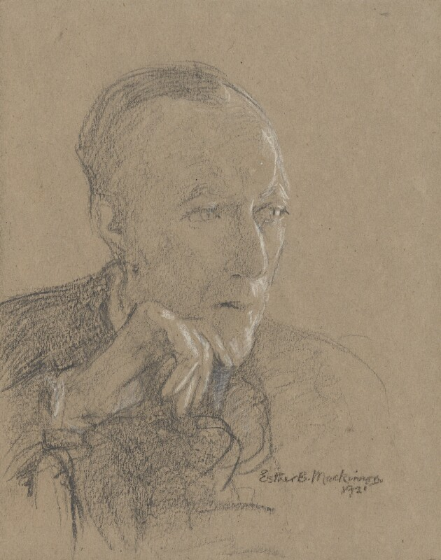 Cecil Sharp, by Esther Blaikie Mackinnon, 1921 - NPG 2517 - © National Portrait Gallery, London