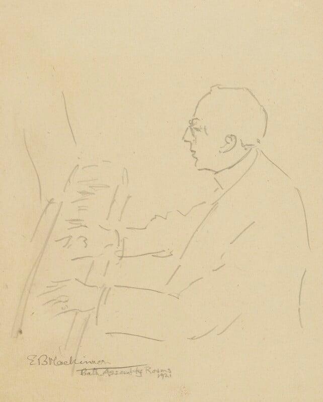 Cecil Sharp, by Esther Blaikie Mackinnon, 1921 - NPG 2518 - © National Portrait Gallery, London