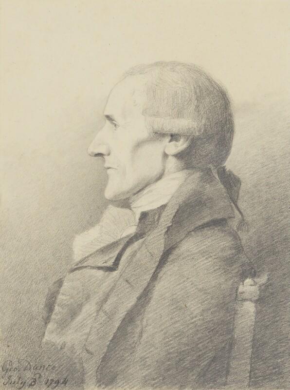 Granville Sharp, by George Dance, 1794 - NPG 1158 - © National Portrait Gallery, London