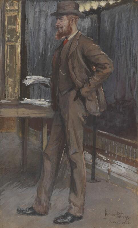 George Bernard Shaw, by Sir (John) Bernard Partridge, 1894 - NPG 4229 - © National Portrait Gallery, London