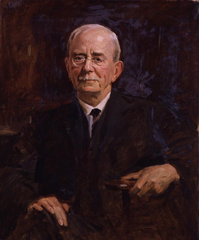 Sir Charles Scott Sherrington, by Reginald Grenville Eves, circa 1927 - NPG 3828 - © National Portrait Gallery, London