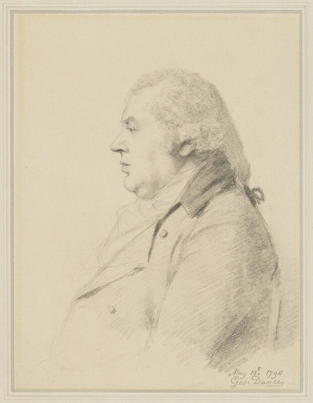 William Shield, by George Dance, 1798 -NPG 1159 - © National Portrait Gallery, London