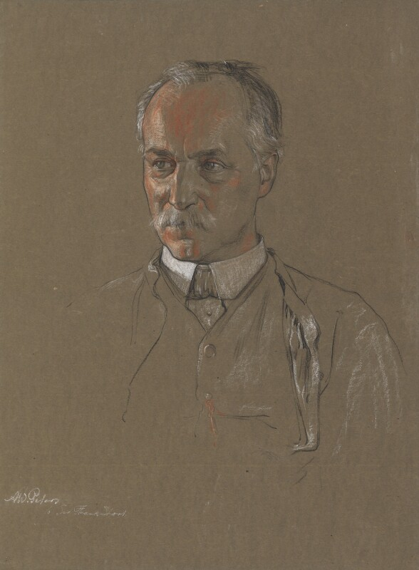 Frank Short, by Albert Wallace Peters, circa 1914 -NPG 3776 - © National Portrait Gallery, London