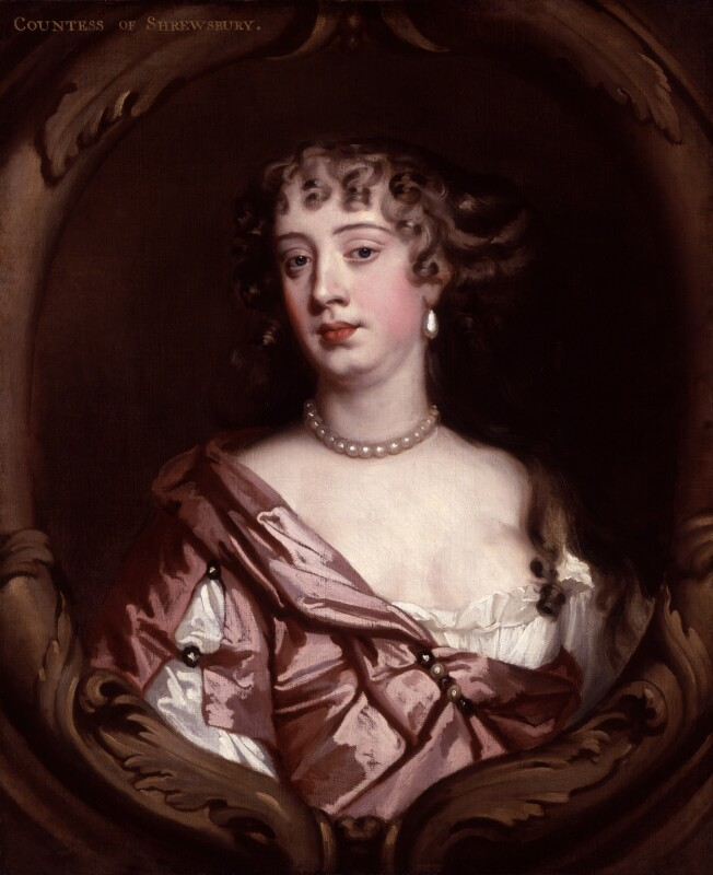 Anna Maria Talbot (née Brudenell), Countess of Shrewsbury, by Sir Peter Lely, circa 1670 - NPG 280 - © National Portrait Gallery, London