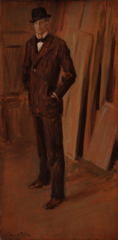 Walter Richard Sickert, by Philip Wilson Steer, published 1894 - NPG 3142 - © National Portrait Gallery, London