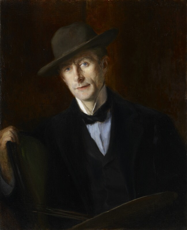 Walter Sickert, by Jacques-Emile Blanche, 1898 - NPG 4761 - © National Portrait Gallery, London