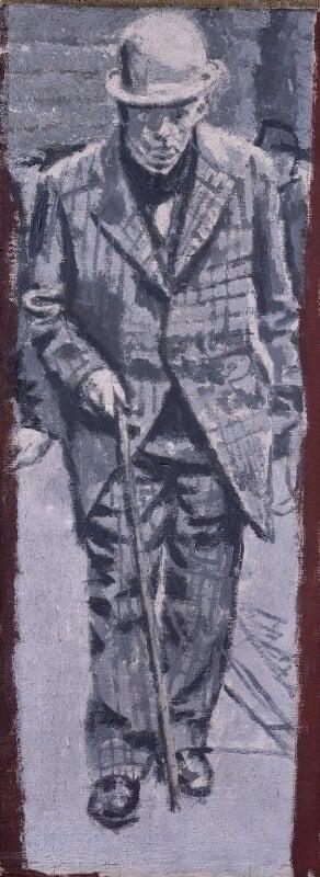 Walter Sickert, by Walter Sickert, 1935 - NPG 3134 - © National Portrait Gallery, London