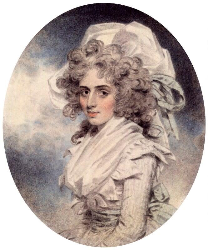 Sarah Siddons (née Kemble), by John Downman, 1787 -NPG 2651 - © National Portrait Gallery, London
