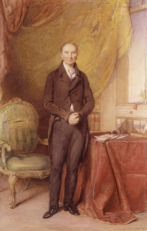 Henry Addington, 1st Viscount Sidmouth, by George Richmond, 1833 - NPG 5 - © National Portrait Gallery, London