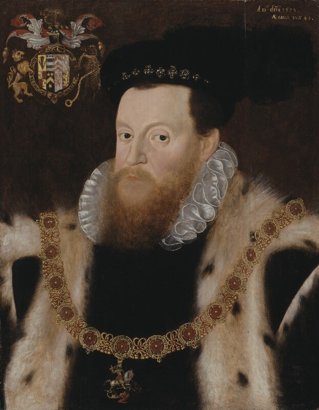 Sir Henry Sidney, by Unknown artist, 1573 - NPG 1092 - © National Portrait Gallery, London