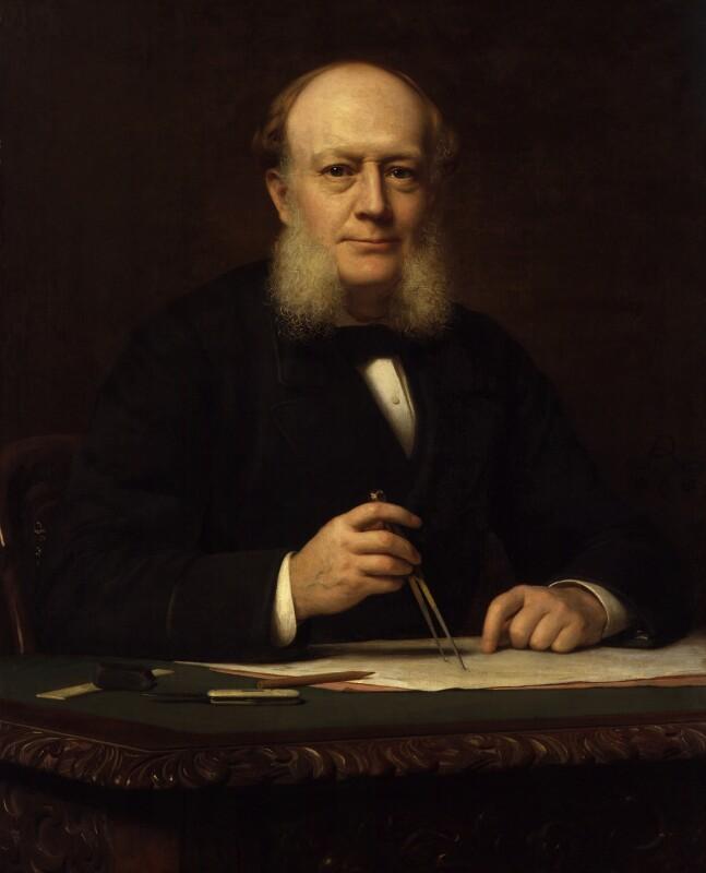 Sir (Charles) William Siemens (né Karl Wilhelm Siemens), by (Wilhelm Augustus) Rudolf Lehmann, 1882 - NPG 2632 - © National Portrait Gallery, London