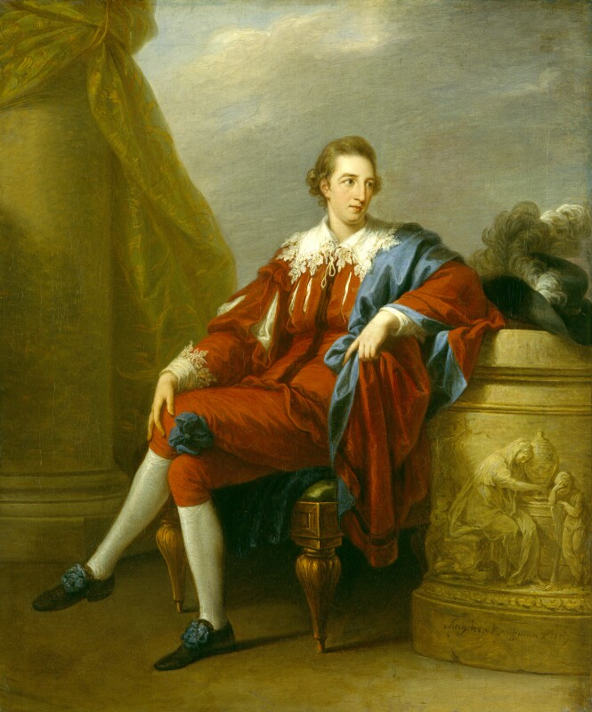 John Simpson, by Angelica Kauffmann, circa 1777 -NPG 1485 - © National Portrait Gallery, London