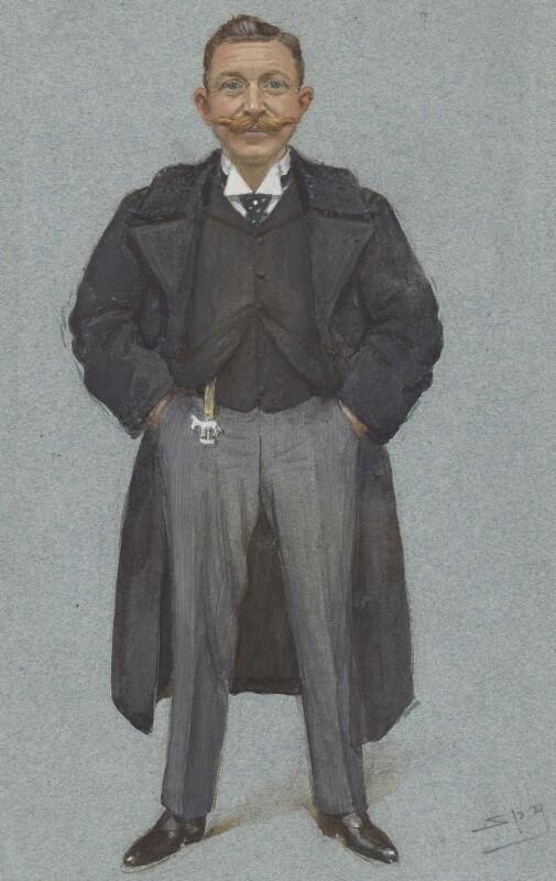 Rudolf Anton Carl Freiherr ('Slatin Pascha') von Slatin, by Sir Leslie Ward, published in Vanity Fair 15 June 1899 - NPG 3001 - © National Portrait Gallery, London