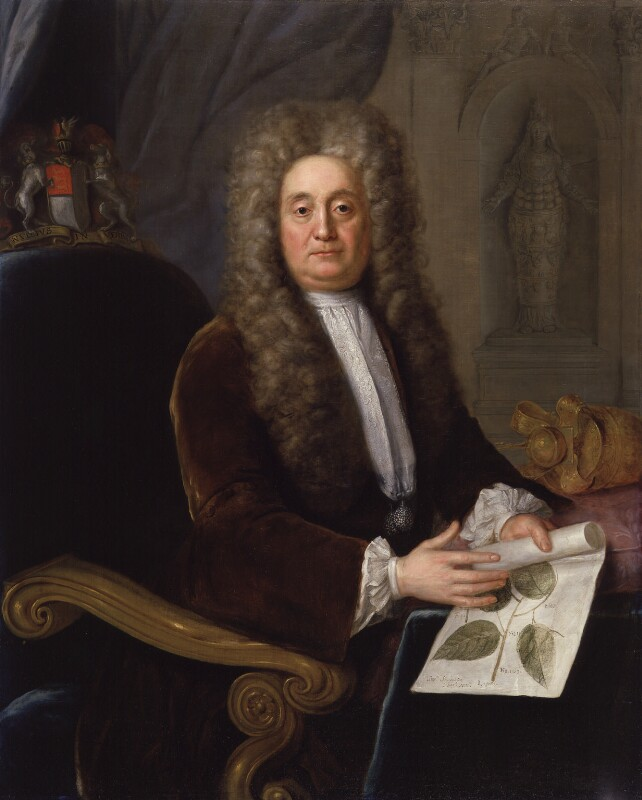 Sir Hans Sloane, Bt, by Stephen Slaughter, 1736 -NPG 569 - © National Portrait Gallery, London