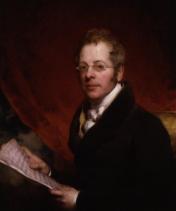 Sir George Thomas Smart, by William Bradley, 1829 - NPG 1326 - © National Portrait Gallery, London