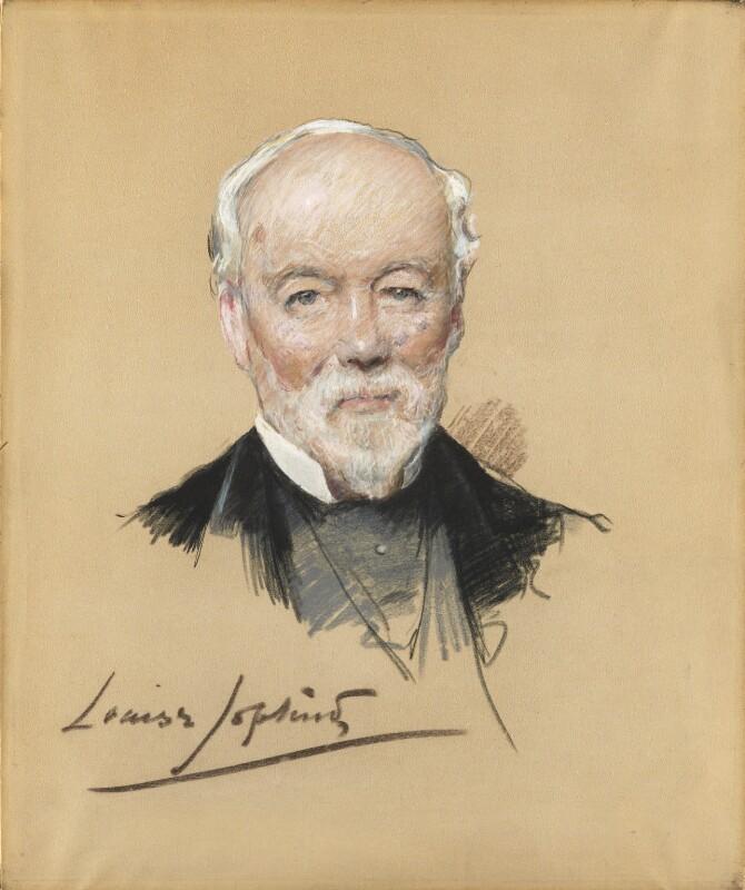 Samuel Smiles, by Louise Jane Jopling (née Goode, later Rowe), 1887 -NPG 1856 - © National Portrait Gallery, London