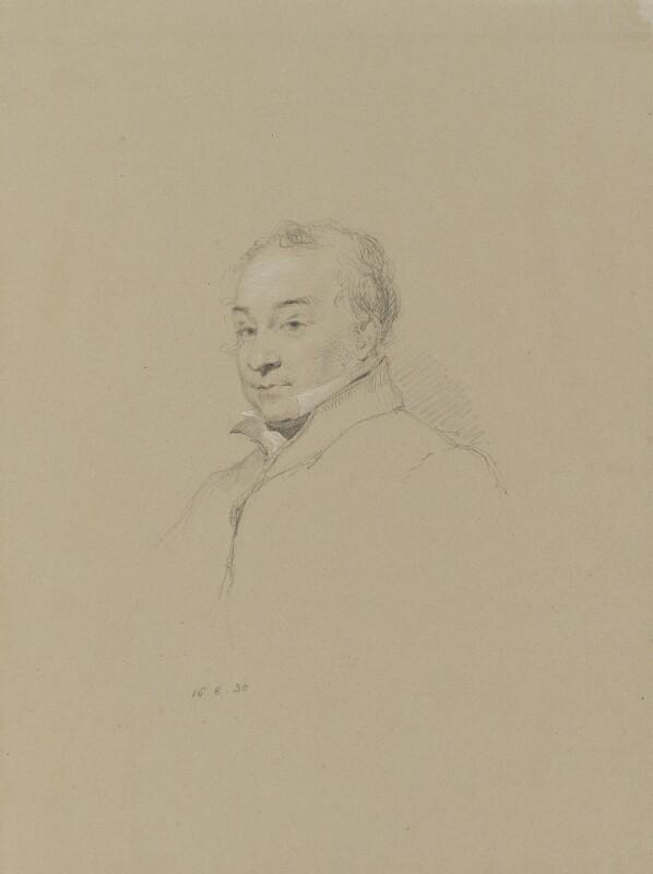 Charles Hamilton Smith, by William Brockedon, 1830 -NPG 2515(22) - © National Portrait Gallery, London