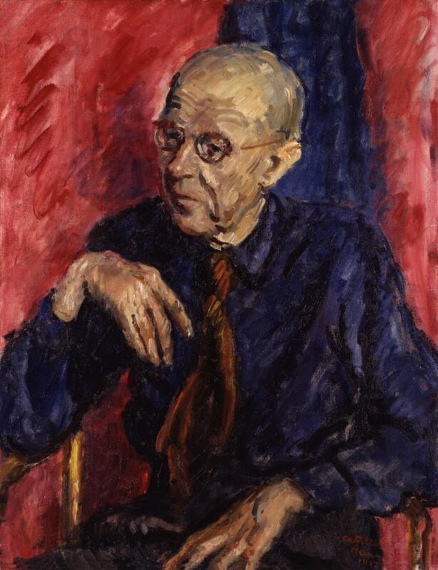 Sir Matthew Smith, by Cathleen Sabine Mann, 1952 - NPG 4161 - © National Portrait Gallery, London