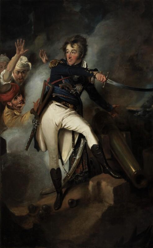 Sir William Sidney Smith, by John Eckstein, 1801-1802 - NPG 832 - © National Portrait Gallery, London