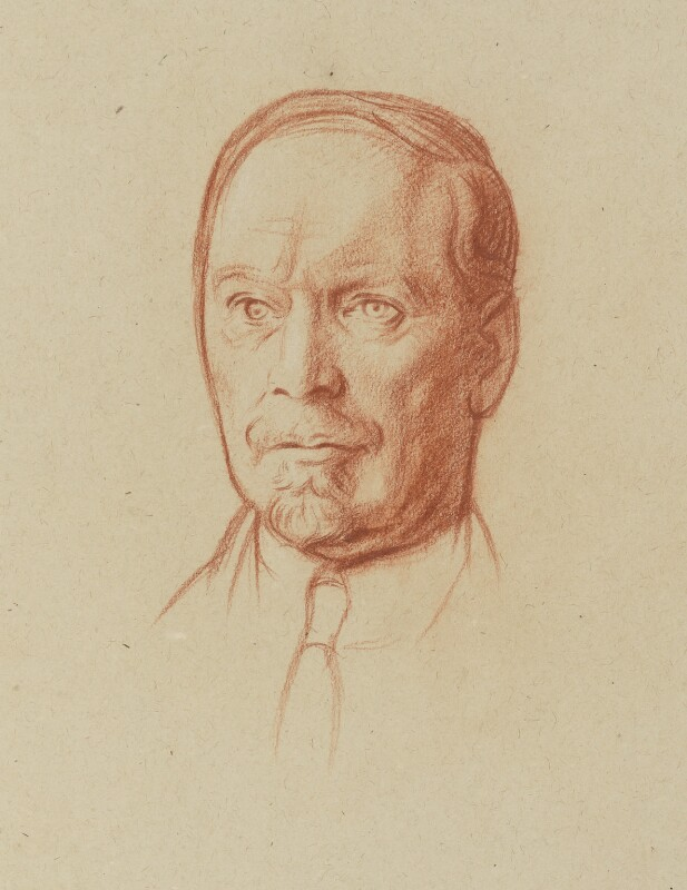 Jan Christian Smuts, by Sir William Rothenstein, 1923 - NPG 4645 - © National Portrait Gallery, London