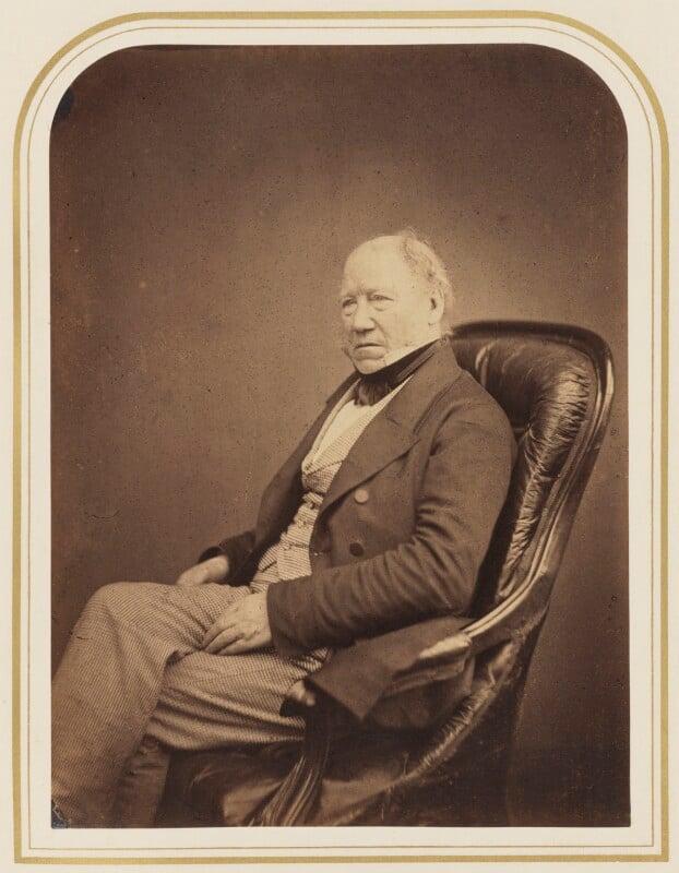 William Henry Smyth, by Maull & Polyblank, 1855 - NPG P120(33) - © National Portrait Gallery, London