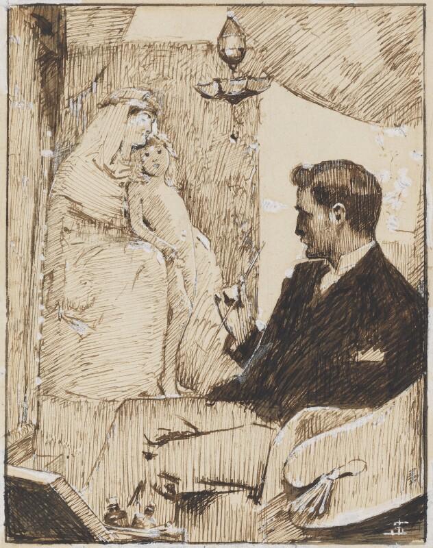 Solomon Joseph Solomon, by Solomon Joseph Solomon, circa 1883-1885 - NPG 3044 - © National Portrait Gallery, London