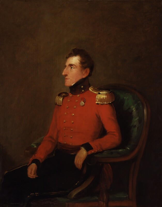 Lord John Somerset, by William Salter, circa 1837 - NPG 3755 - © National Portrait Gallery, London