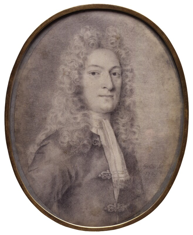 Probably William Somerville, by George White, 1709 -NPG 1873 - © National Portrait Gallery, London