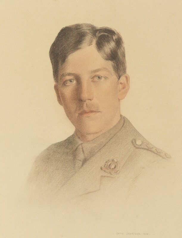 Charles Hamilton Sorley, by Cecil Jameson, 1916 - NPG 5012 - © National Portrait Gallery, London