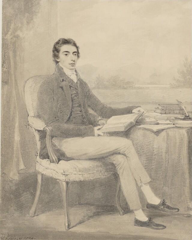 Robert Southey, by Henry Edridge, 1804 -NPG 119 - © National Portrait Gallery, London