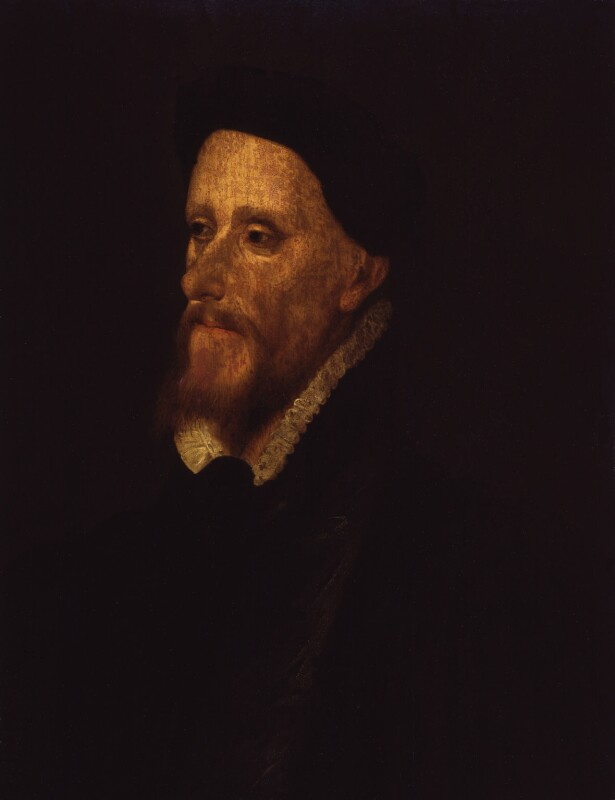Unknown man, formerly known as John Speed, by Unknown artist, circa 1550-1575 - NPG 571 - © National Portrait Gallery, London