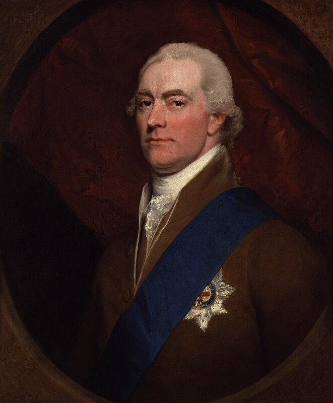 George John Spencer, 2nd Earl Spencer, by John Singleton Copley, circa 1800 - NPG 1487 - © National Portrait Gallery, London